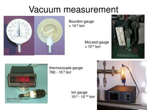 Vacuum Measurement Ppt Photoelectron Spectroscopy Powerpoint Presentation