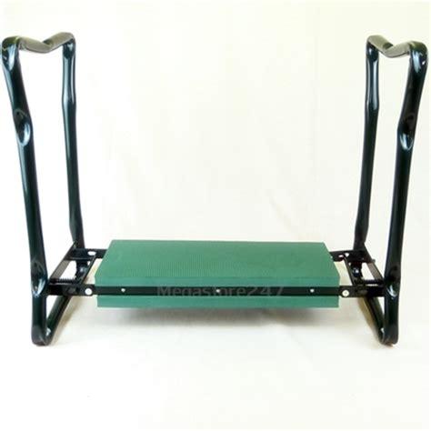 Kneeler Chair by New Portable Garden Kneeler Seat Cushion Folding Padded
