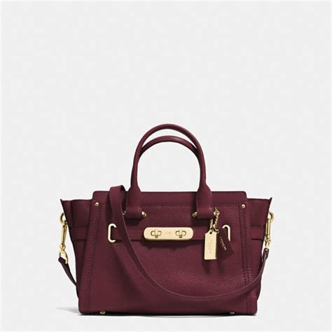 Coach Swagger 27 Embelished coach swagger bag