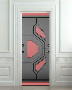 futuristic doors door sticker futuristic gate hi tech star mural decole film self adhesive poster 30x79 quot 77x200
