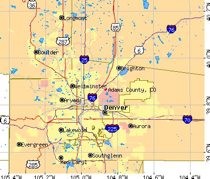 Colorado County Map With Cities by Pics Photos Colorado County Map With Seat Cities