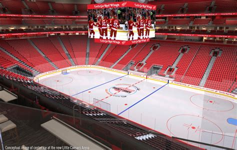 Caesars Palace Suites Floor Plans inside look at red wings new little caesar s arena si com