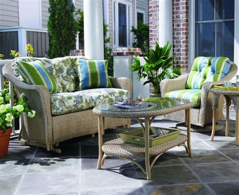 Veranda Outdoor Furniture by Lloyd Flanders Outdoor Wicker Furniture Veranda Collection