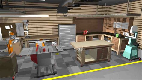 workshop interior layout garage shop designs decor ideasdecor ideas