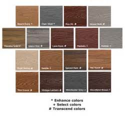 trex colors trapease 3 composite deck by fastenmaster decksdirect