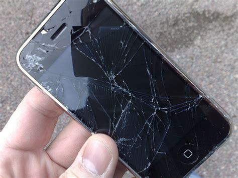 iphone broken glass repair cost