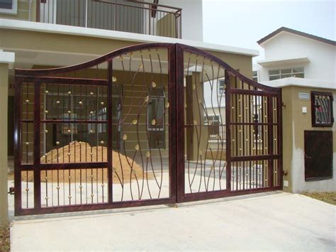 modern gate design for homes kitchentoday