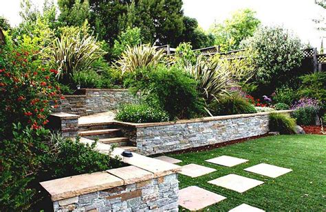 Small Sloped Garden Design Ideas Small Sloped Garden Design Ideas Sloping Garden Design Ideas Corner Sloping Garden Design