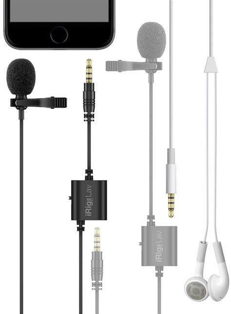 Irig Mic Lav by Kvr Irig Mic Lav By Ik Multimedia Microphone
