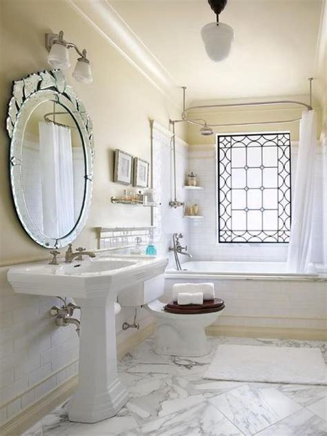 1920s bathroom decor stained glass designs bringing exclusive art decor style