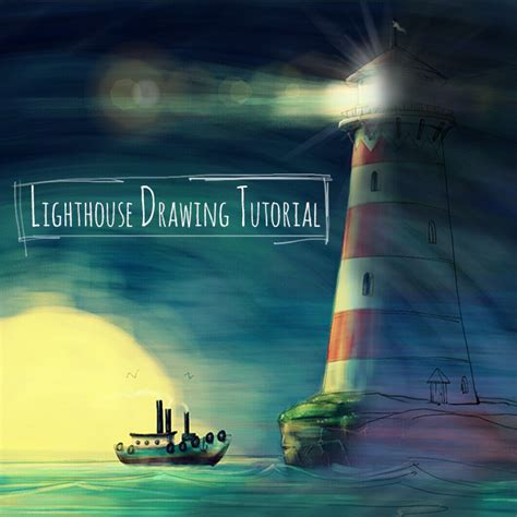 tutorial picsart drawing step by step tutorial how to draw a lighthouse with picsart