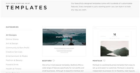 custom squarespace templates gallery templates design ideas