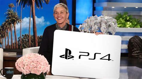 Ellen Degeneres Giveaway Winners - ellen degeneres giveaway win a playstation 4