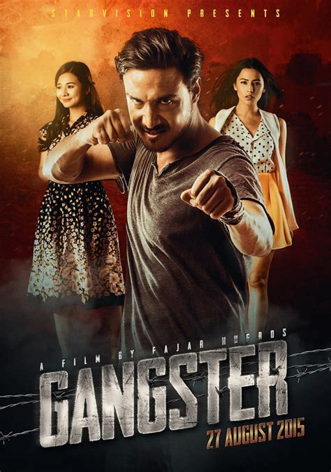 Film Gangster Rilis | film laga indonesia gangster rilis teaser poster muvila