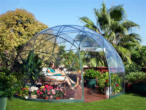 the garden igloo is a pop up geodesic dome for any