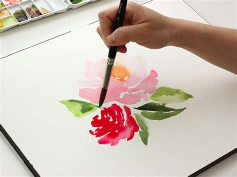 watercolor tutorial basic 25 creative watercolor projects do small things with