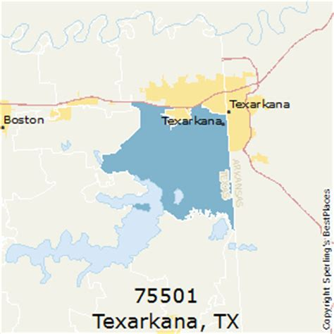 texarkana texas map best places to live in texarkana zip 75501 texas