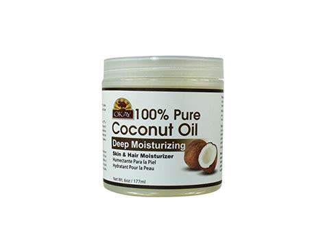 coconut skin topical okay 100 coconut skin hair moisturizer 6 oz ingredients and reviews