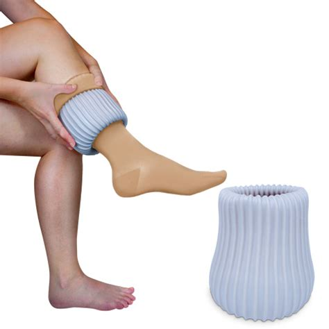 sock aid for teds sigvaris doff n donner donner and cone for compression