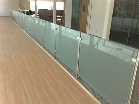 Banister Rail Glass Balustrades From Modern Glass Oxfordshire And London