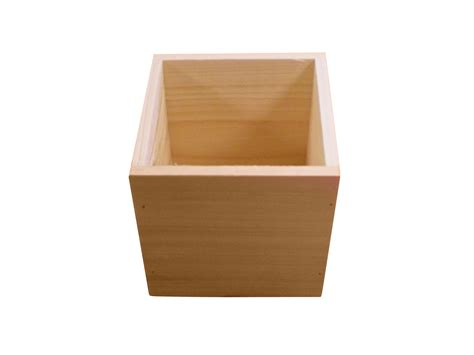 Online Shopping Sites Home Decor 5 quot plain wood box jo ann