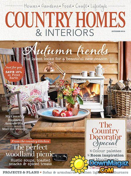 country home design magazines country homes interiors october 2014 187 download pdf
