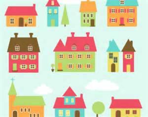 Home Design Dream House Download house clip art etsy