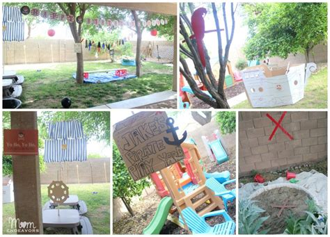 diy decorations for outside jake and the never land birthday