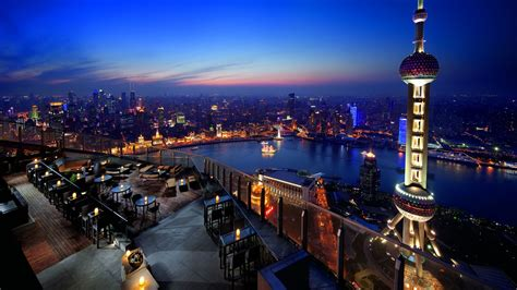 Rustic Dining Rooms by Flair Rooftop Restaurant Amp Bar The Ritz Carlton Shanghai
