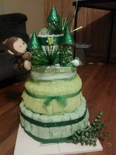 Richies Oz Themed Baby Shower by Quot Emerald City Quot Cake I Made For Wizard Of Oz Themed