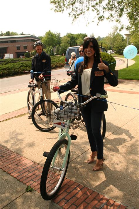 I Ride For Pch - danielle lam giving our new bike a thumbs up