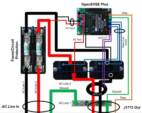 electric vehicle charger wiring diagram wiring diagrams