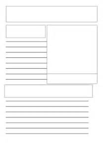 Fact File Template Ks2 by Information Page Template By Zowinda Teaching Resources