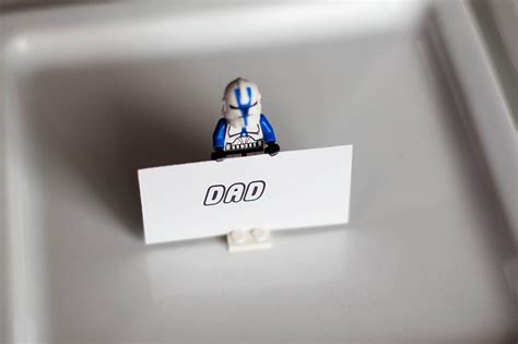 Lego Gift Card Holder - easy lego place card holders all for the boys