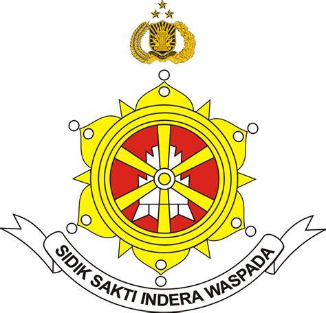 Bordiran Logo Simbol Militer Pisau logo satuan reserse dan kriminal satreskrim polri ardi la madi s