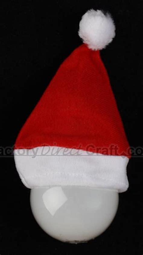 small santa hat doll hats doll making supplies craft