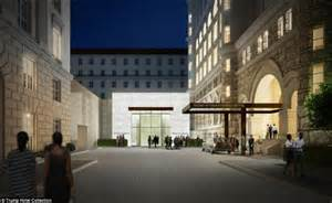 hotels near the white house donald trump s new hotel in washington dc to open in september 2016 daily mail online