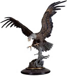 thunderbird eagle statue chester fields bronzes inc