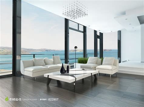 drawing room layout with balcony free drawing room 海景房室内会客厅装潢设计图片 素材公社 tooopen com