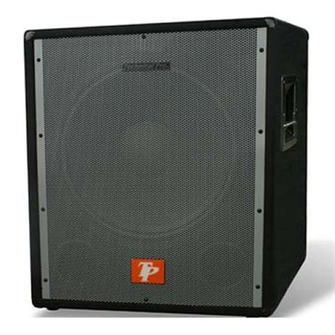 G Ci New 1801 technical pro sub 1801x subwoofer