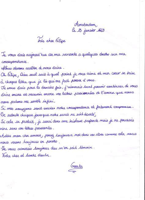 Exemple De Lettre D Amour El 232 Ves Cr 233 Ateurs Lettre D Amour Ou Lettre De Rupture