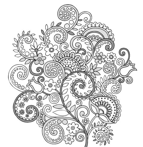 flower doodle lovely flower doodle coloring pages gallery resume ideas