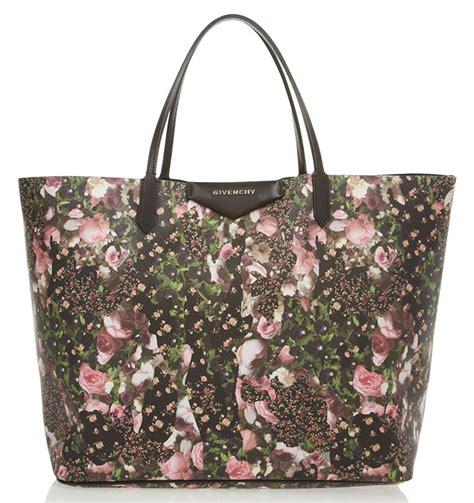 Givenchy Antigona Flower Medium 3317 florals for groundbreaking page 8 of 15 purseblog