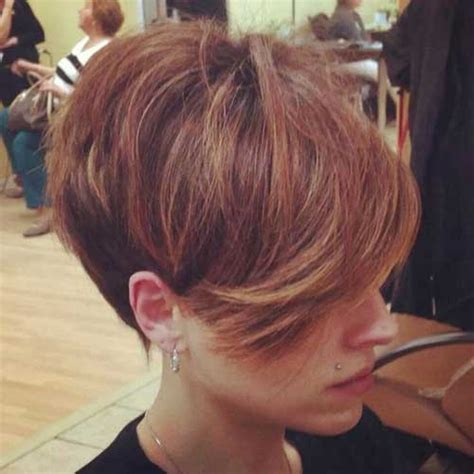 haircuts long in front cropped in back 25 cool short haircuts for women short hairstyles 2016