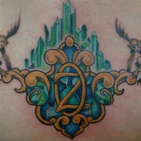 oz tattoo wizard of oz ink artist moses veliz at gold dust