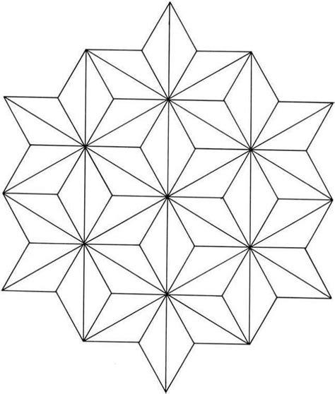 figuras geometricas unidas dibujos geom 233 tricos para colorear e imprimir gratis