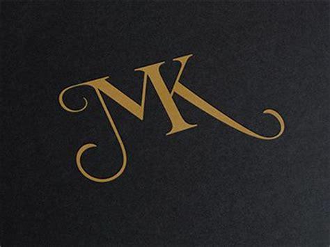 mk design 1000 ideas about monogram logo on floral logo