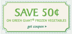 printable frozen vegetable coupons 0 50 1 green giant coupon