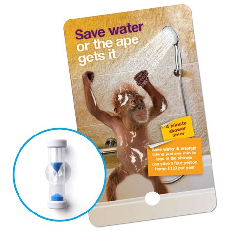 Shower Timer Cut by Free Water Efficiency Devices South Staffs Water