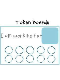 token board template 89 best images about autism on
